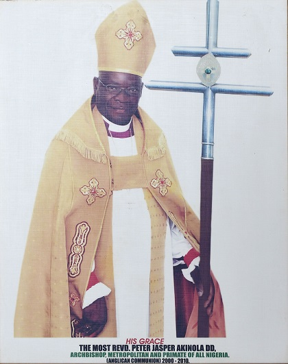 Most Revd Peter Jasper Akinola CHurch of Nigeria