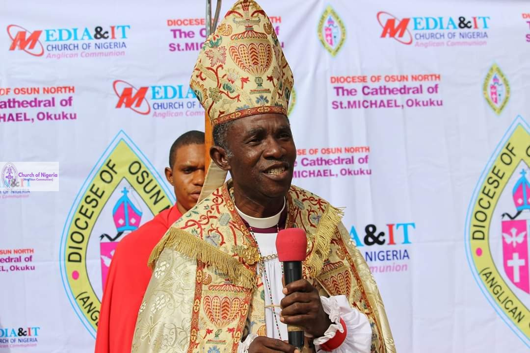 The Rt. Rev'd Abiodun Taiwo Olaoye, Bishop of Osun-North